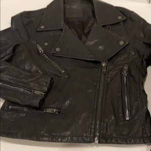 Blank NYC Moto Jacket. Black Small. EUC